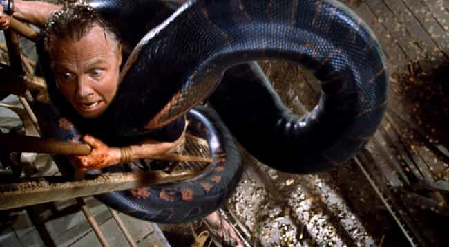 Anaconda is listed (or ranked) 2 on the list Horrible Horror Films That Are Fun As Heck To Watch