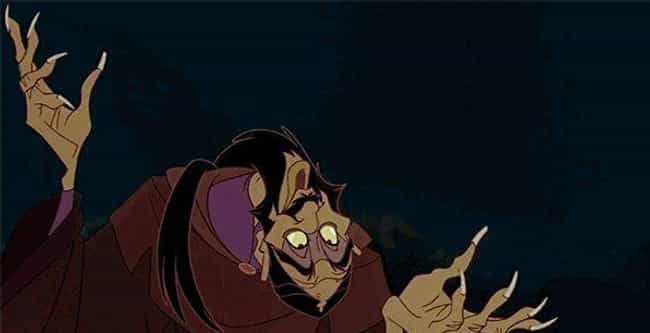 Anastasia is listed (or ranked) 3 on the list Weird, Emotionally Scarring Things You Forgot About In Don Bluth Films
