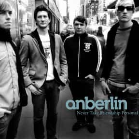 Anberlin is listed (or ranked) 17 on the list Island Records Complete Artist Roster