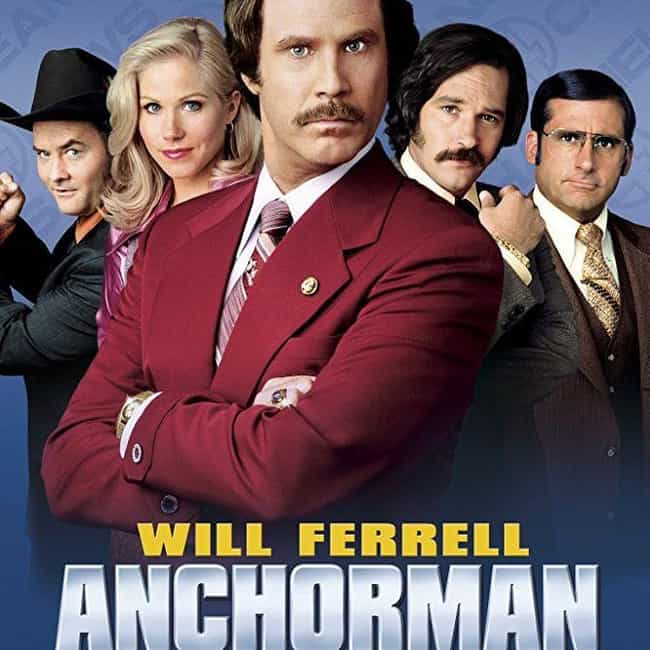 Anchorman: The Legend of Ron B... is listed (or ranked) 4 on the list What to Watch If You Love 'The Office'