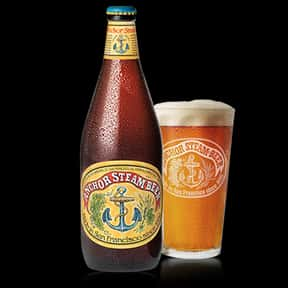 Anchor Steam is listed (or ranked) 17 on the list The Best American Domestic Beers