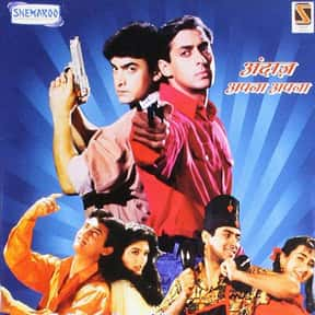 Andaz Apna Apna is listed (or ranked) 8 on the list The Best Bollywood Movies of All Time