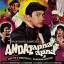 Andaz Apna Apna is listed (or ranked) 6 on the list The Best 90s Bollywood Movies
