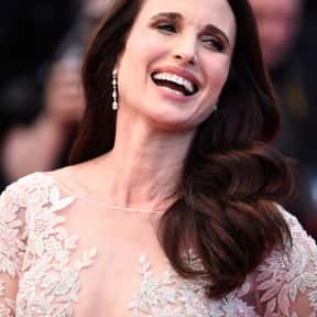 Andie MacDowell is listed (or ranked) 3 on the list Famous People From South Carolina