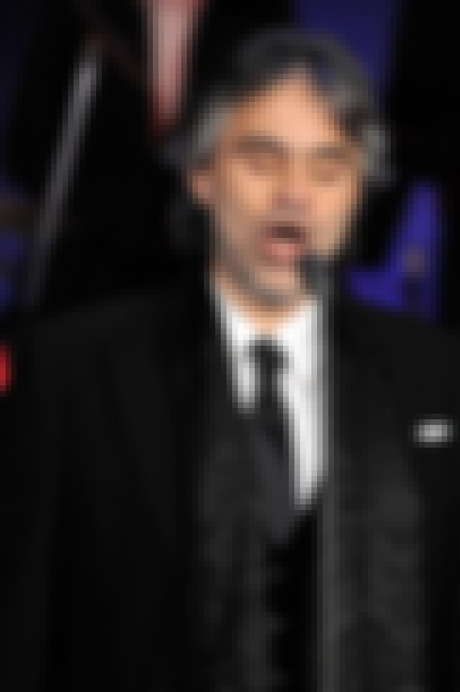 Andrea Bocelli is listed (or ranked) 3 on the list 26 Famous Blind People