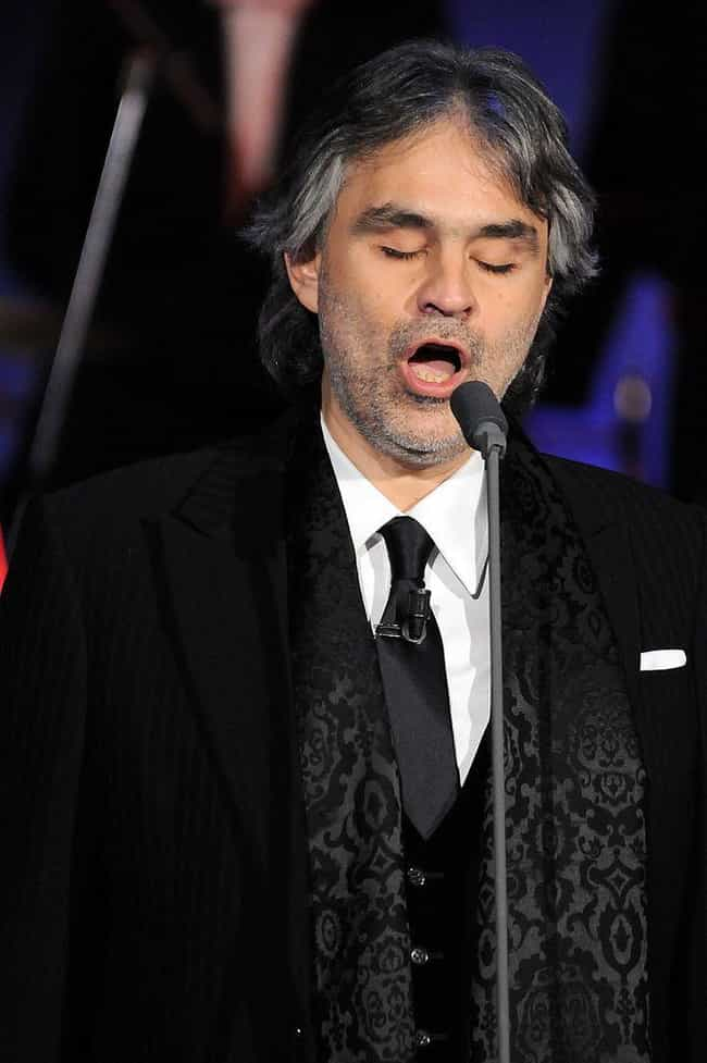 Andrea Bocelli is listed (or ranked) 3 on the list Famous Blind People