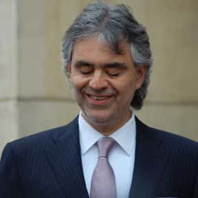 Andrea Bocelli is listed (or ranked) 22 on the list The Greatest Singers of the Past 30 Years