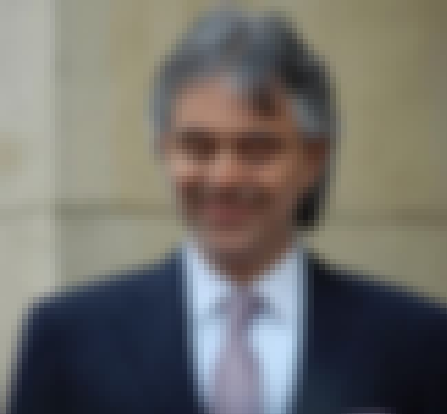 Andrea Bocelli is listed (or ranked) 3 on the list List of Famous Opera Singers