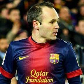 Andrés Iniesta is listed (or ranked) 10 on the list The Best Soccer Players of All Time