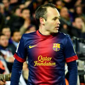Andrés Iniesta is listed (or ranked) 11 on the list List of Famous Footballers
