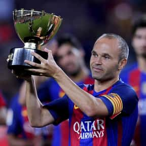 Andrés Iniesta is listed (or ranked) 1 on the list The Best Soccer Players from Spain