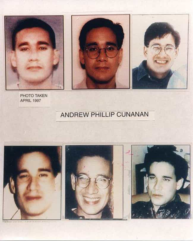 Andrew Cunanan is listed (or ranked) 2 on the list 10 'Charming' Serial Killers And Murderers