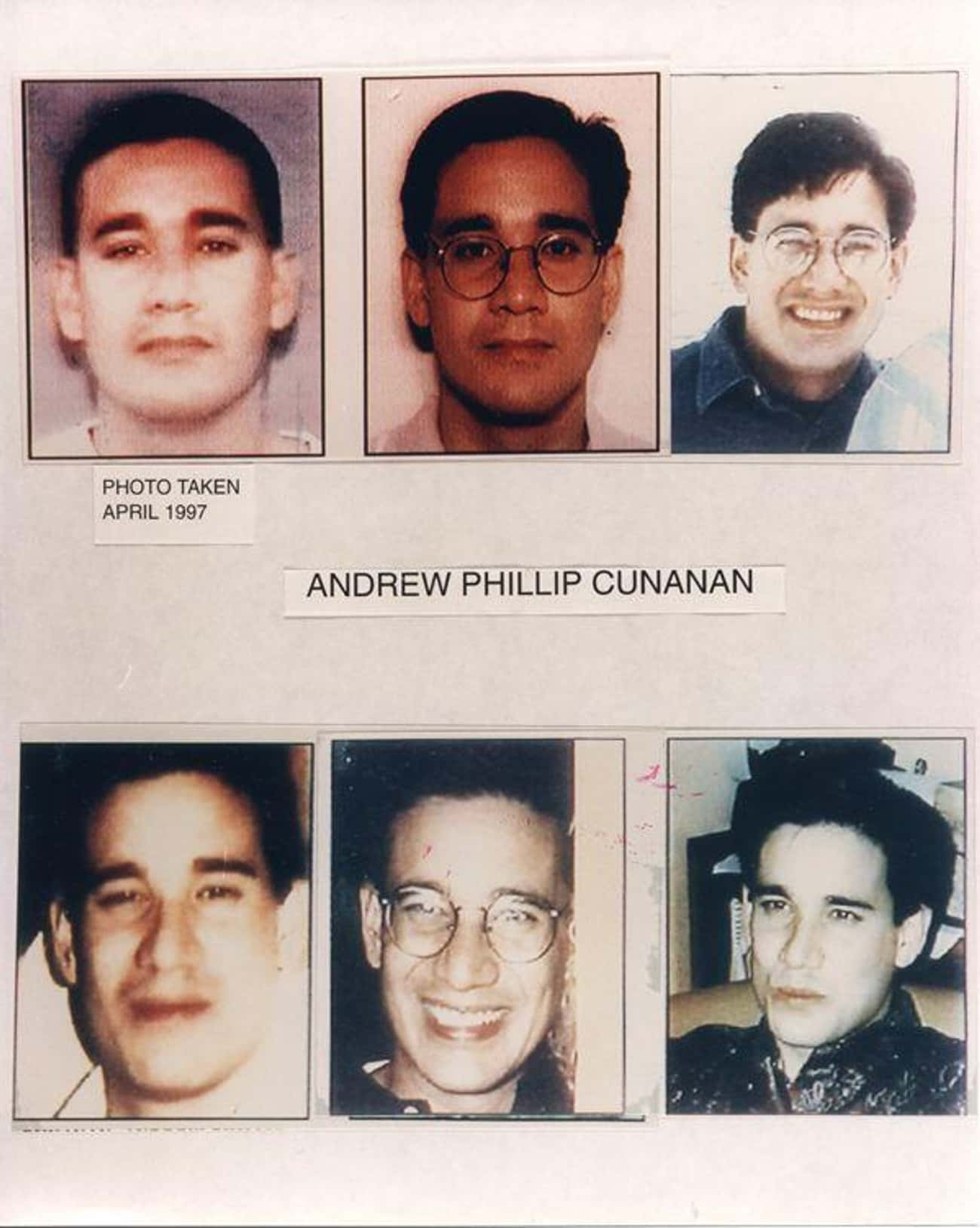 Andrew Cunanan is listed (or ranked) 4 on the list The Serial Killers Who Seemed the Most Normal
