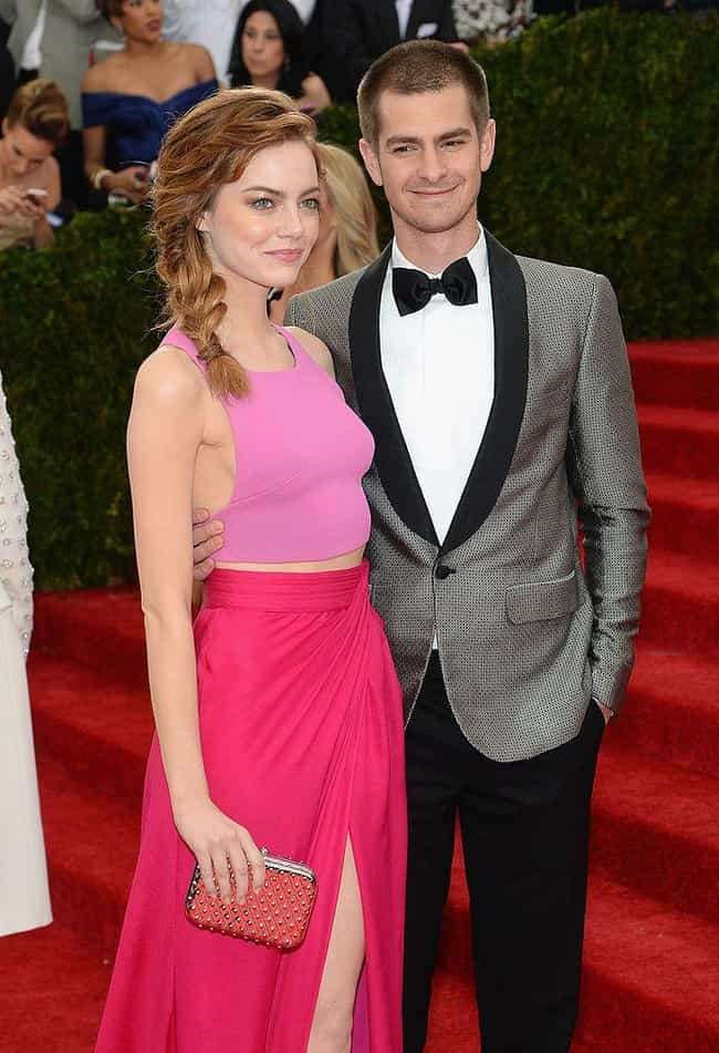 Andrew Garfield is listed (or ranked) 1 on the list Emma Stone Loves and Hookups