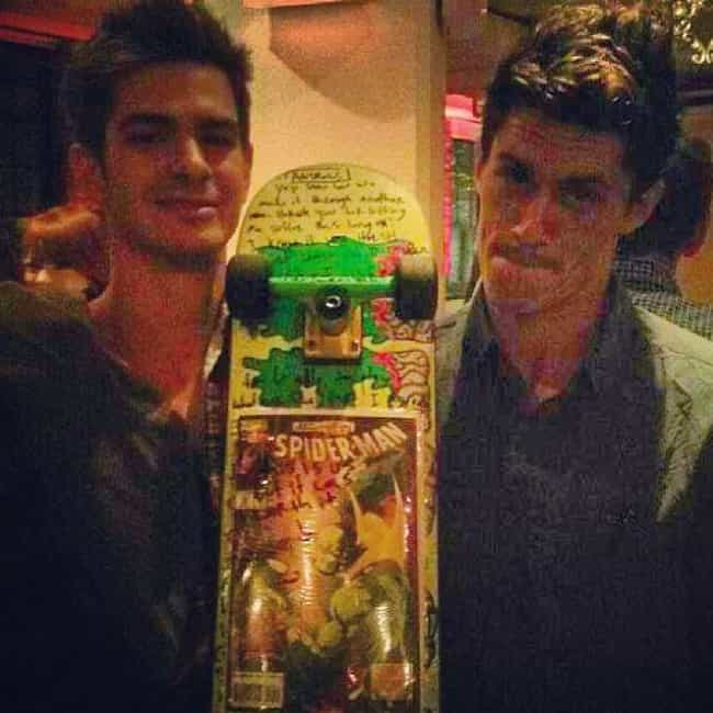 Andrew Garfield is listed (or ranked) 7 on the list Awesome Photos Of Celebrities With Their Stunt Doubles