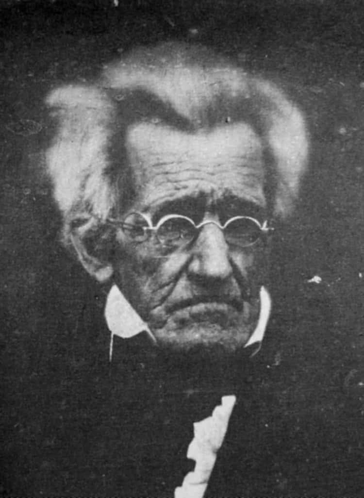 Andrew Jackson, 1844/45