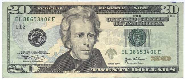 Andrew Jackson is listed (or ranked) 4 on the list US Presidents Who Appear On American Money