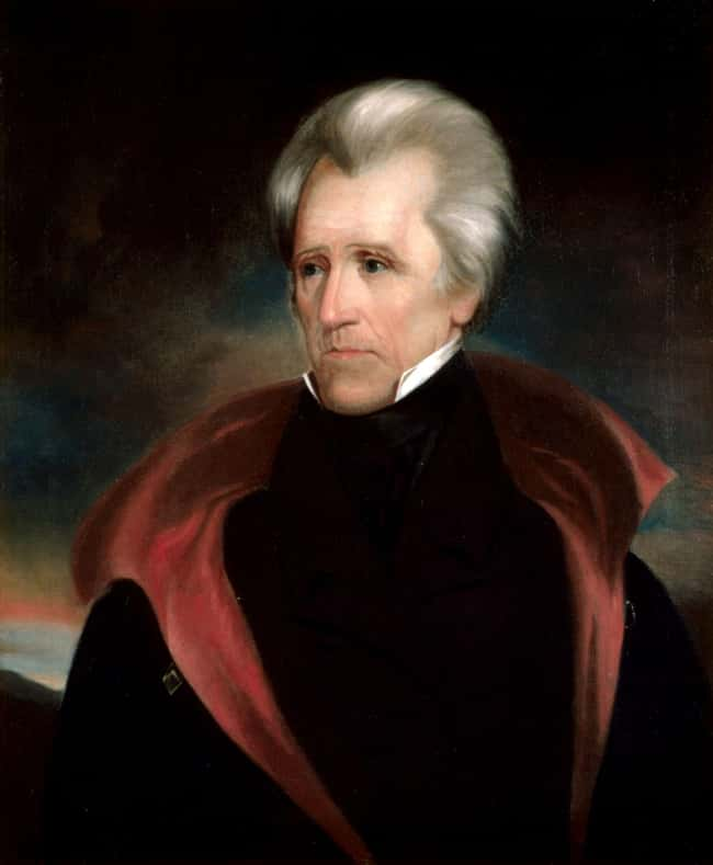 Andrew Jackson is listed (or ranked) 7 on the list Every U.S. President & Every Medical Problem They've Ever Had