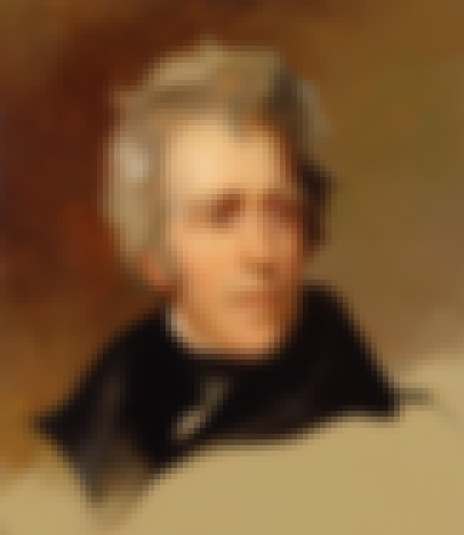 Andrew Jackson is listed (or ranked) 22 on the list 27 of the Most Famous ESTJs