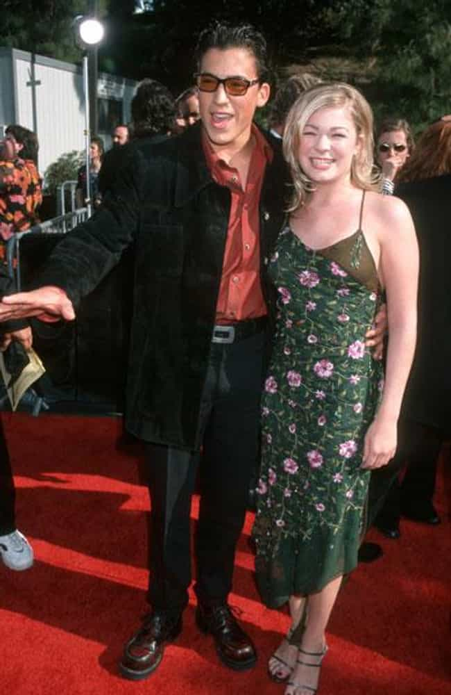 Andrew Keegan is listed (or ranked) 3 on the list LeAnn Rimes' Loves & Hookups