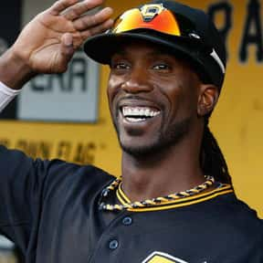 Andrew McCutchen is listed (or ranked) 12 on the list List of Famous Baseball Center Fielders