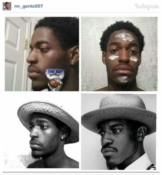 André 3000 is listed (or ranked) 2 on the list 60+ Unbelievable #MakeupTransformations
