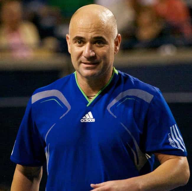 Andre Agassi is listed (or ranked) 2 on the list The Best Tennis Players from the United States