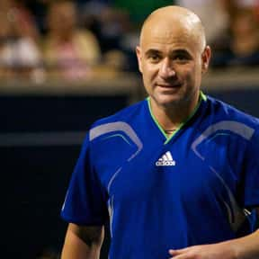 Andre Agassi is listed (or ranked) 2 on the list The Best Men's Tennis Players of the 1990s