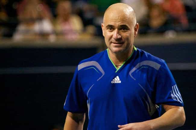 Andre Agassi is listed (or ranked) 2 on the list Men Who Barbra Streisand Has Dated