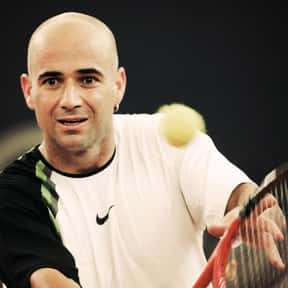 Andre Agassi is listed (or ranked) 8 on the list The Greatest Male Tennis Players of the Open Era