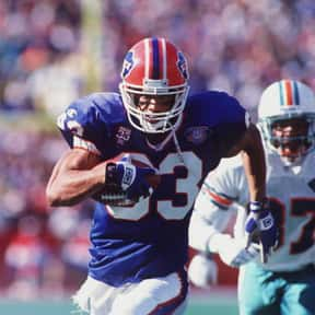 Andre Reed is listed (or ranked) 21 on the list The Best Wide Receivers of All Time