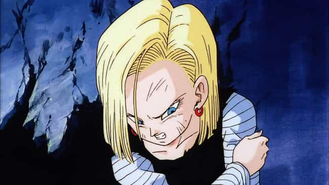 Android 18 is listed (or ranked) 2 on the list 15 Strong Anime Moms Who Would Destroy You In A Fight