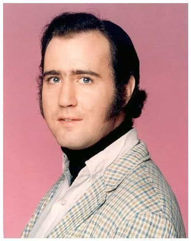 Andy Kaufman is listed (or ranked) 3 on the list 15 People Who Have Been Banned from SNL