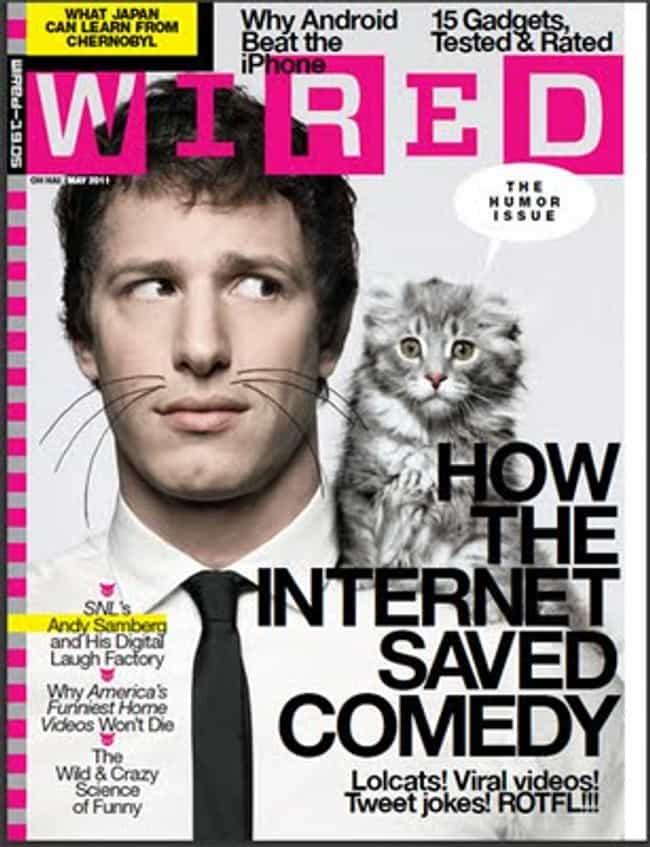 Andy Samberg is listed (or ranked) 3 on the list The Best Wired Covers