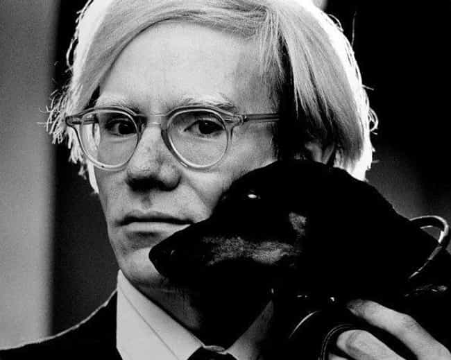 "Andy Warhol is listed (or ranked) 1 on the list Here Are 12 Historical Hoarders Who Took ""Collecting"" To The Next Level"