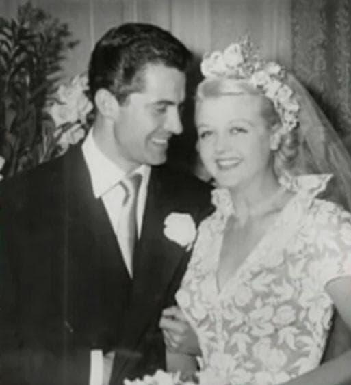 Random Rarely Seen Photos Of Old Hollywood Legends On Their Wedding Day
