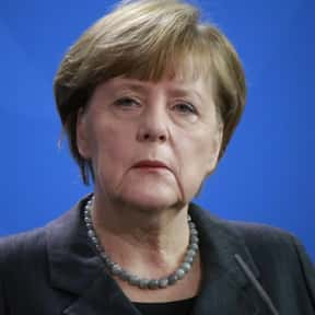Angela Merkel is listed (or ranked) 15 on the list Famous Politicians You'd Want to Have a Beer With