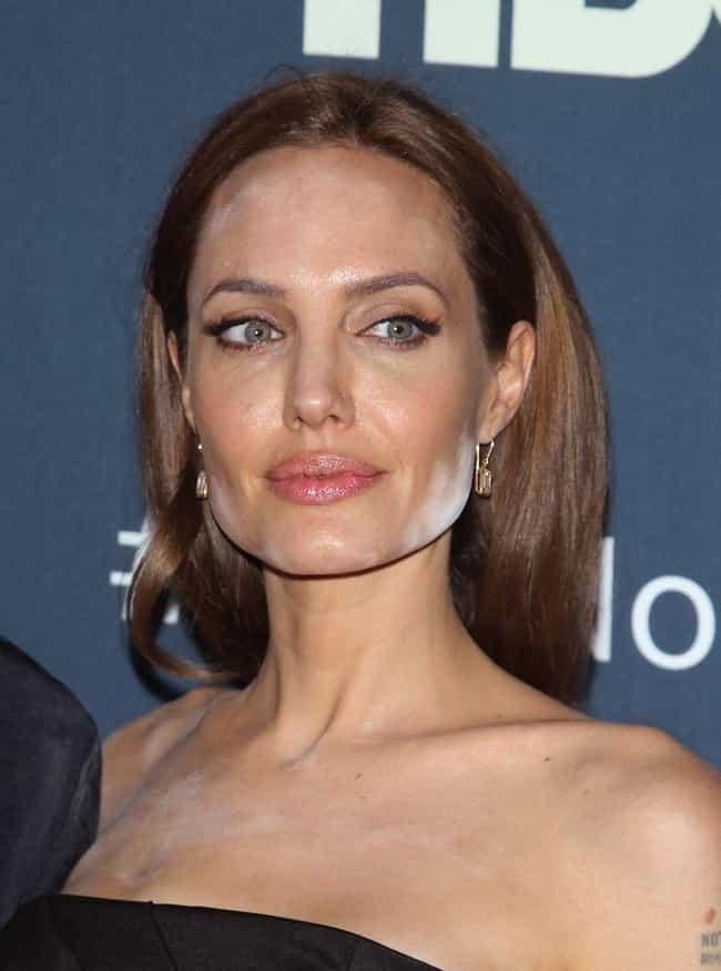 Angelina Jolie is listed (or ranked) 4 on the list The Worst Celebrity Makeup Fails