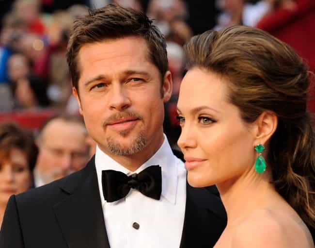 Angelina Jolie is listed (or ranked) 3 on the list Famous Friends of Brad Pitt