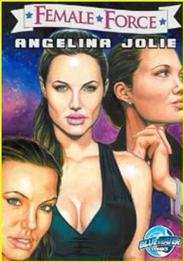 Angelina Jolie is listed (or ranked) 2 on the list 50+ Celebrities Who Have Appeared in Comic Books