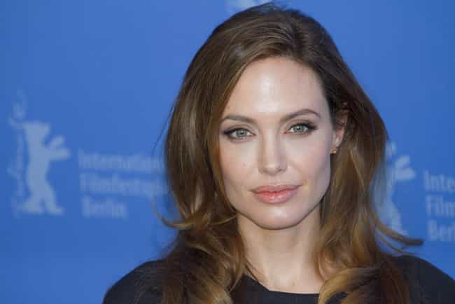 Angelina Jolie is listed (or ranked) 1 on the list Left Handed Celebrities