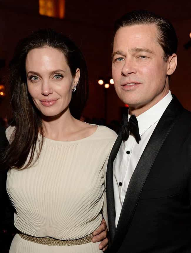 Angelina Jolie is listed (or ranked) 1 on the list Brad Pitt's Loves & Hookups