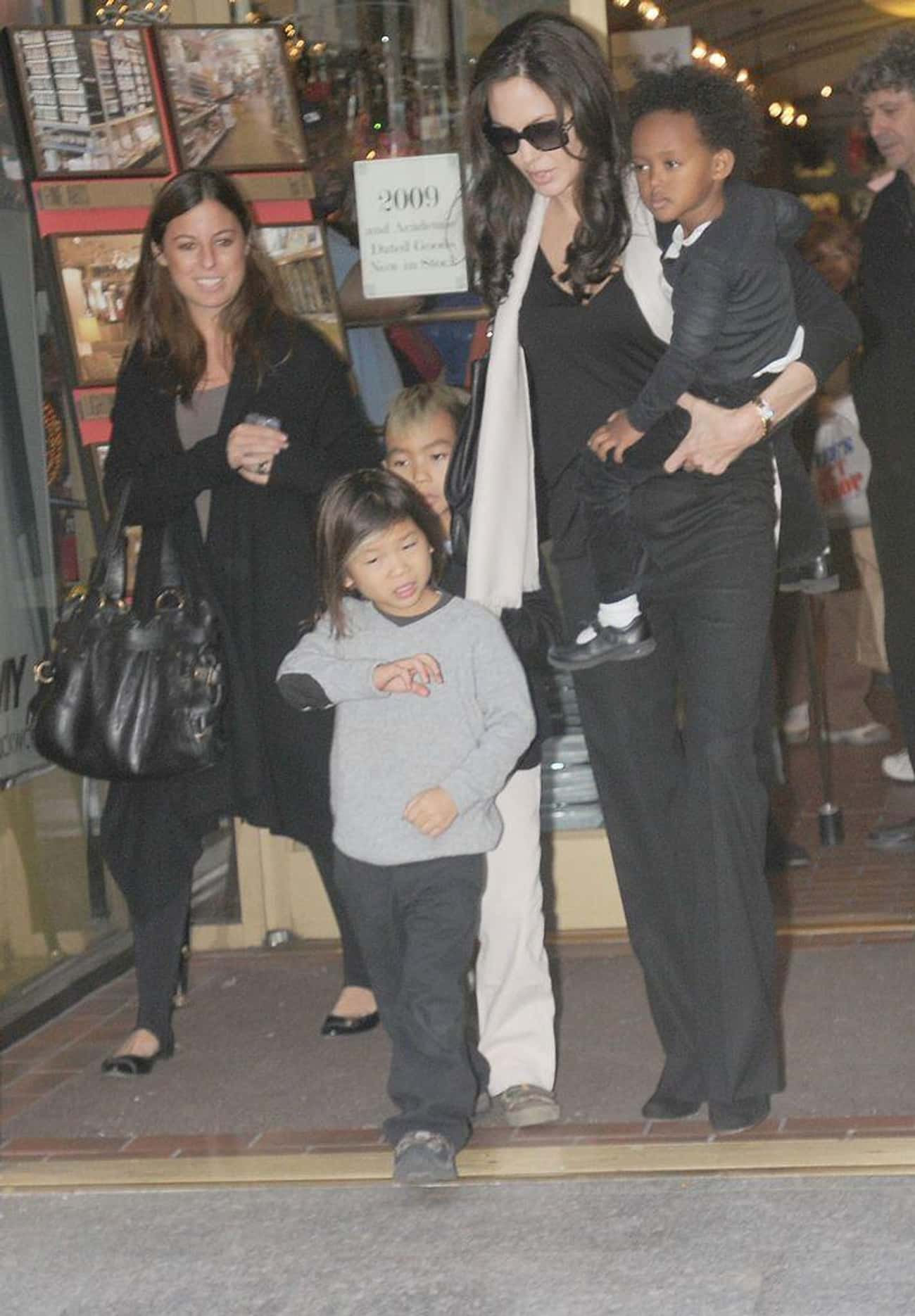 Angelina Jolie is listed (or ranked) 1 on the list 17 Celebrities Who Adopted Children From Overseas