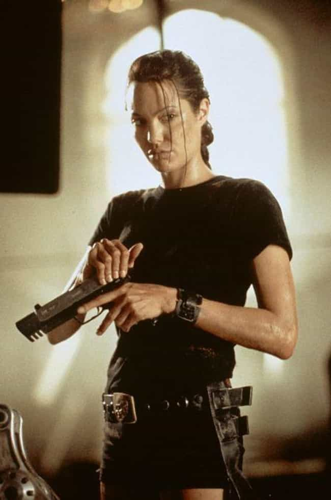 Angelina Jolie is listed (or ranked) 2 on the list 47 Famous People Who Own Guns