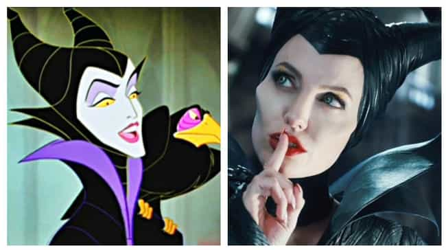 Angelina Jolie is listed (or ranked) 2 on the list Actors Who Played Animated Disney Characters