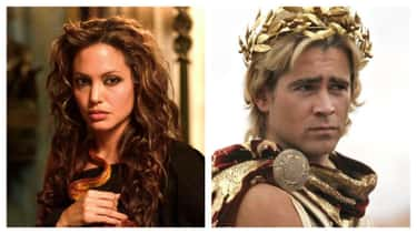 Angelina Jolie And Colin Farrell In 'Alexander'