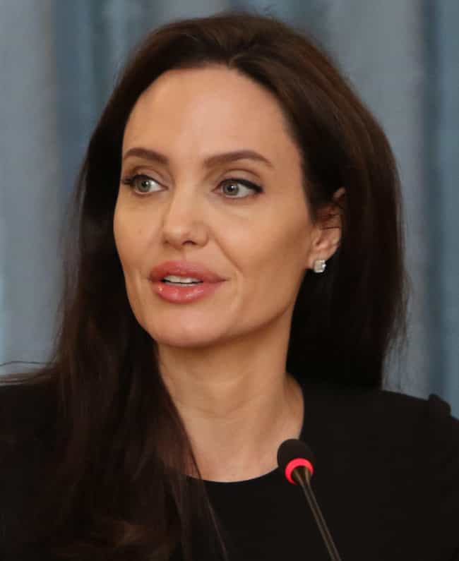 Angelina Jolie is listed (or ranked) 2 on the list 20 Famous ESTPs