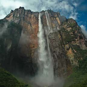 Angel Falls is listed (or ranked) 18 on the list The Most Beautiful Natural Wonders In The World