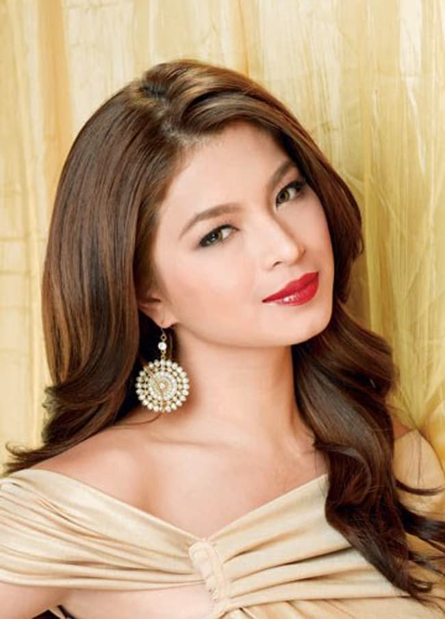 Angel Locsin Is Listed Or Ranked 4 On The List The Most Beautiful Filipino