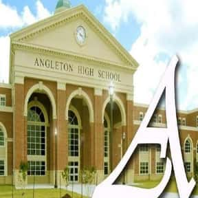 Angleton High School is listed (or ranked) 16 on the list Bobcat Mascot School List